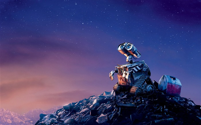 Disney movie WALL-E Wallpaper Views:21829