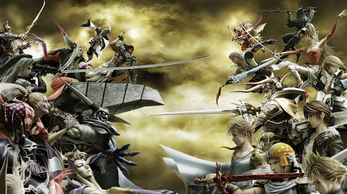 Dissidia-Classic game Final Fantasy Wallpaper Views:16411 Date:10/8/2011 2:11:28 AM