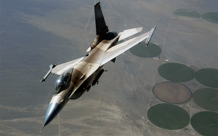 F-16 Fighting Falcon-Years of peace-military aircraft Views:5826