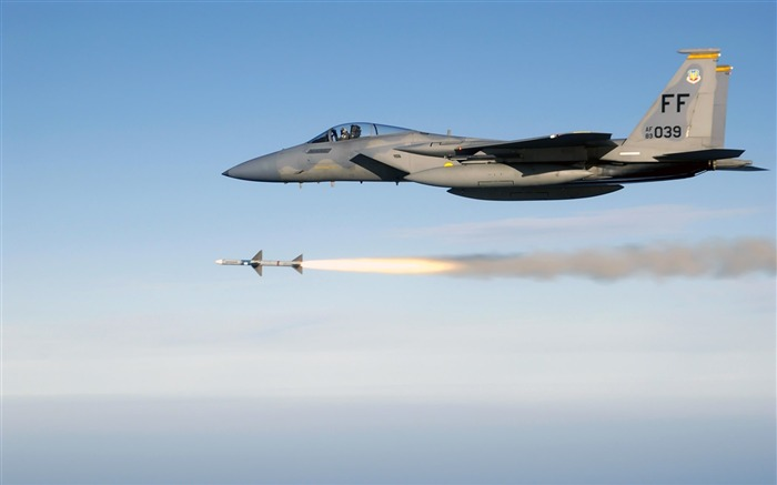F15 Eagle Firing-Years of peace-military aircraft Views:6789