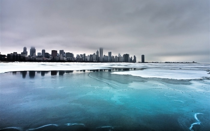 Ice City Lake-Travel in the world - photography wallpaper Views:4820