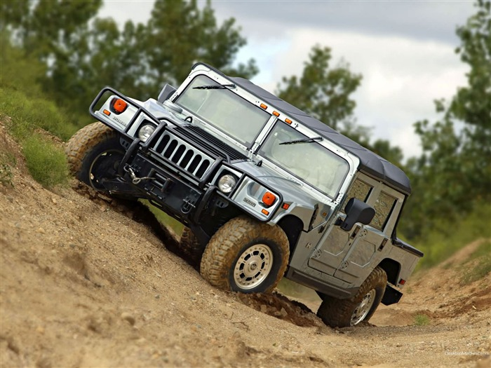 King off-road vehicles - the Hummer H1 series wallpaper 14 Views:14274