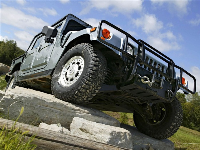 King off-road vehicles - the Hummer H1 series wallpaper Views:7535