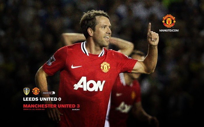 Leeds United 0 Manchester United 3-Star-Premier League matches in 2011 Views:5187