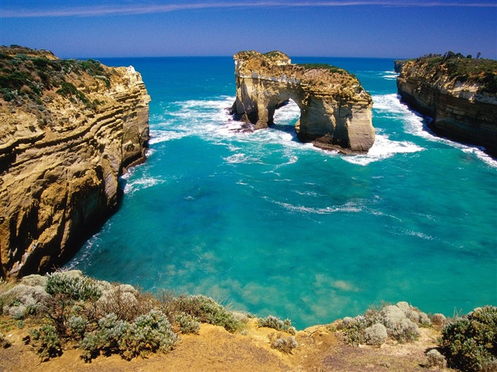 Loch Ard Gorge Australia-Travel in the world - photography wallpaper Views:8948