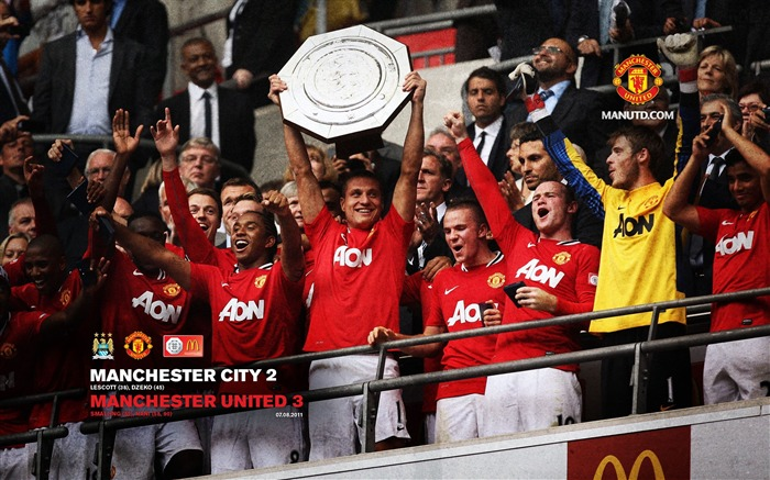 Manchester City 3-2 Community Shield-Star-Premier League matches in 2011 Views:3989