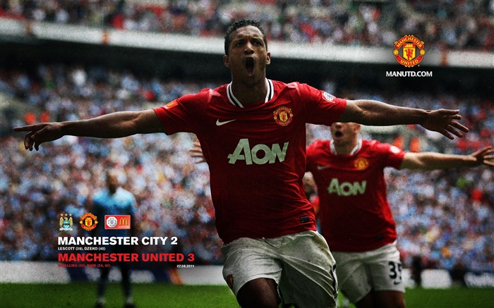 Manchester City 3-2 Community Shield -Star-Premier League matches in 2011 Views:3292