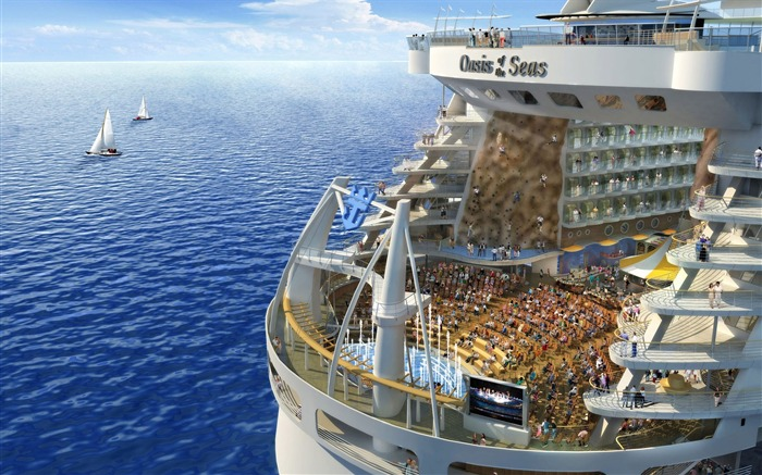 Oasis of the seas Royal Caribbean-Travel in the world - photography wallpaper Views:5195
