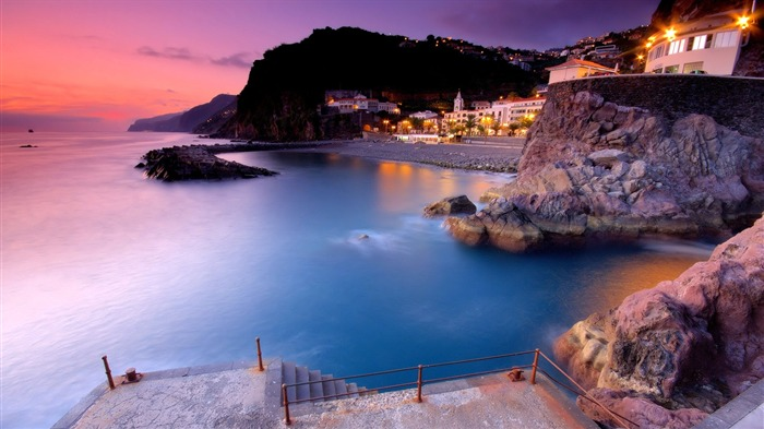 Offshore Town-Travel in the world - photography wallpaper Views:3682