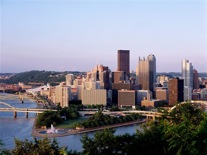 Pittsburgh as Seen From Duquesne Heights-Traveled the world Views:4080