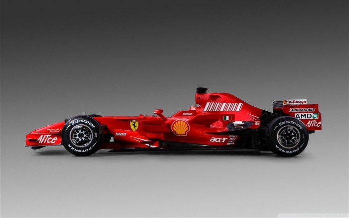 Red ferrari-F1 Formula Racing Wallpaper Views:13256