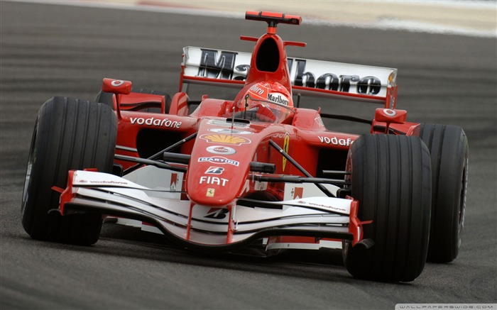Red ferrari f1-F1 Formula Racing Wallpaper Views:18625