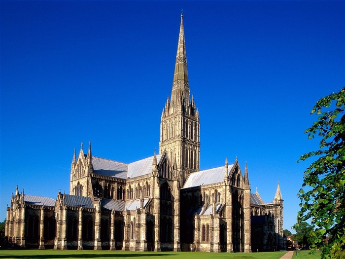 Salisbury Cathedral England-Traveled the world Views:5155
