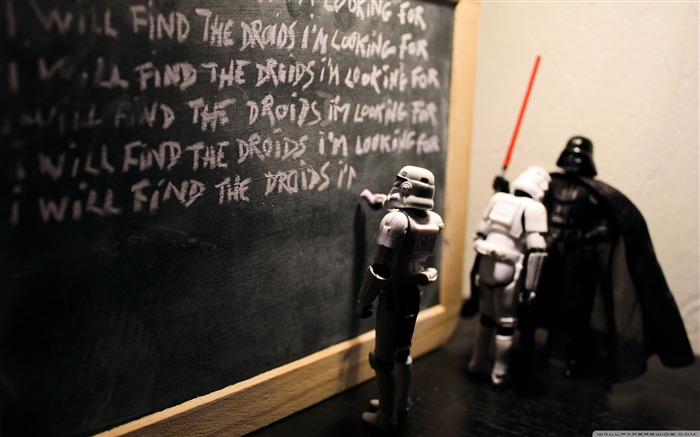 Teaching is very important Imperial Stormtrooper series desktop wallpaper medium