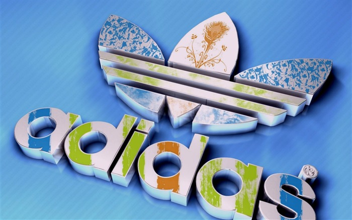 adidas big logo-Well-known brand image display desktop wallpaper Views:50947