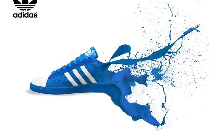 adidas trainers-Well-known brand image display desktop wallpaper Views:24147