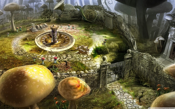 artwork-Alice in Wonderland Movie HD Wallpaper Views:10326