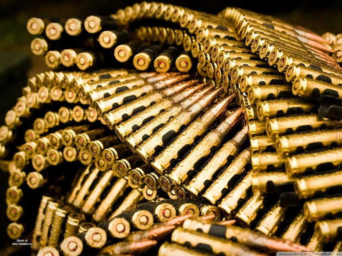 bullets -military-related items Desktop wallpaper Views:8319
