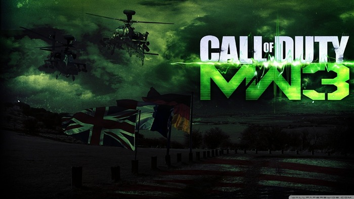 call of duty modern warfare 3 HD Game wallpaper Views:15978