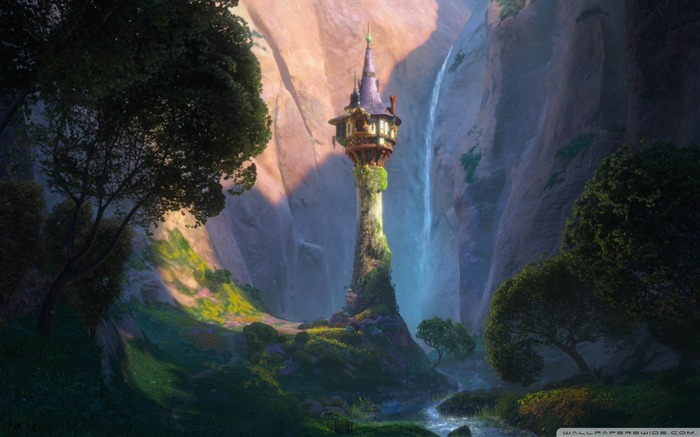 castle-Tangled 2010 animated wallpaper Views:11998