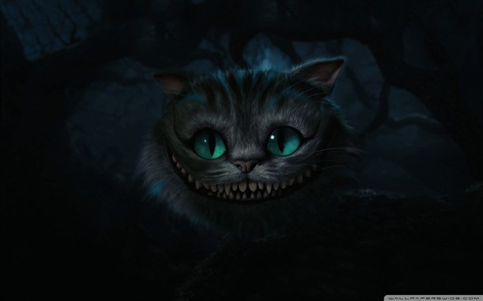 cheshire cat-Alice in Wonderland Movie HD Wallpaper 01 Views:32038