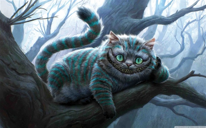 cheshire cat-Alice in Wonderland Movie HD Wallpaper 03 Views:102862