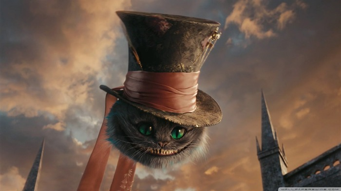 cheshire cat-Alice in Wonderland Movie HD Wallpaper 04 Views:22477
