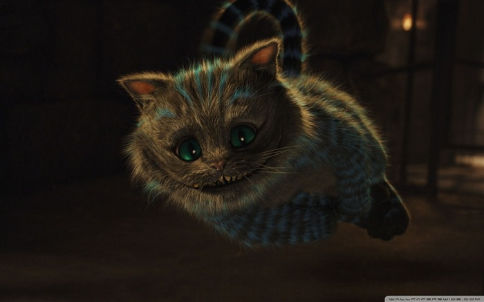 cheshire cat-Alice in Wonderland Movie HD Wallpaper Views:16125