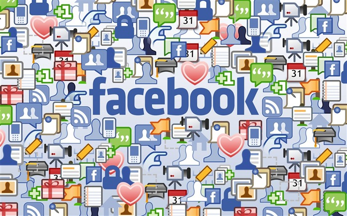 facebook-Well-known brand image display desktop wallpaper Views:7472