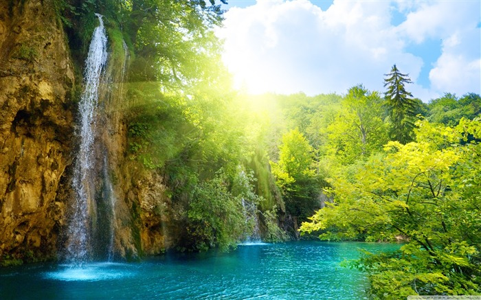 World most famous waterfall landscape wallpaper Views:27549