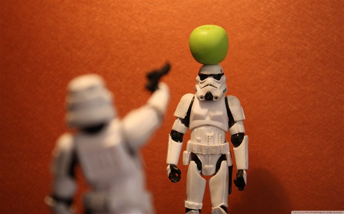 funny Imperial Stormtrooper series desktop wallpaper Views:21971