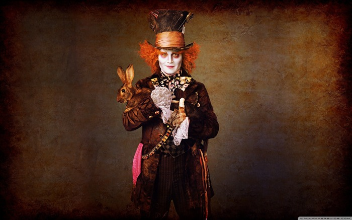 johnny depp-Alice in Wonderland Movie HD Wallpaper 04 Views:19827