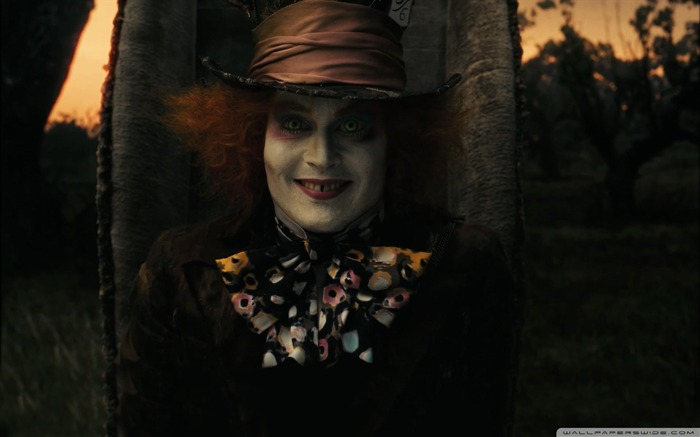 mad hatter-Alice in Wonderland Movie HD Wallpaper 04 Views:8727