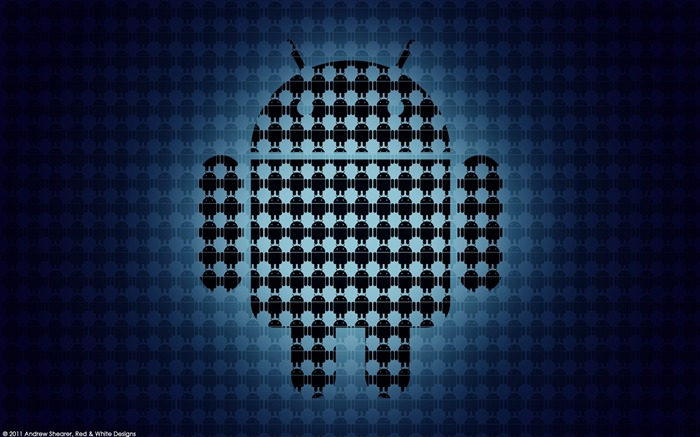 new android logo-Well-known brand image display desktop wallpaper Views:11730