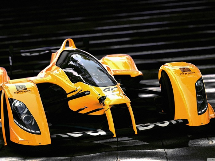 orange car-F1 Formula Racing Wallpaper Views:9620