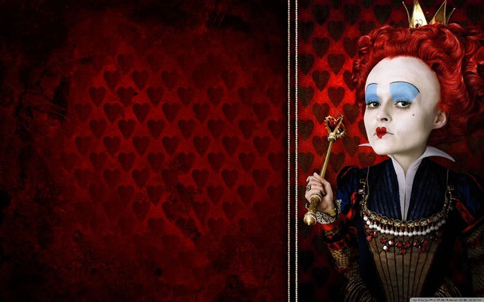 queen of hearts-Alice in Wonderland Movie HD Wallpaper 01 Views:28886