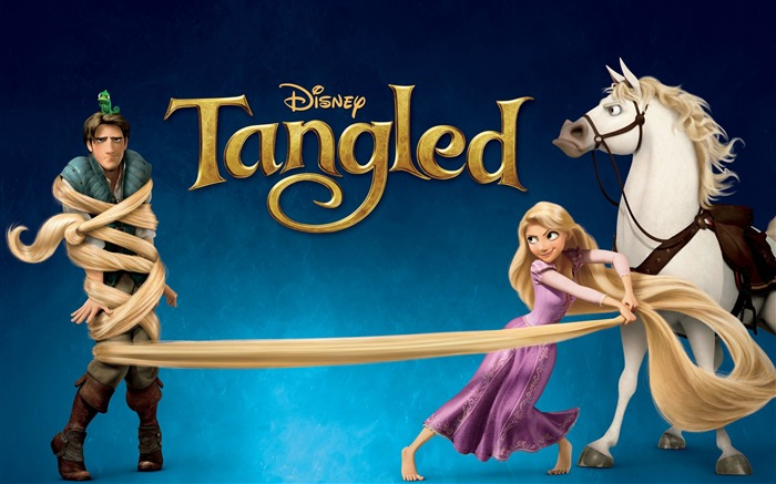 Disney film-Tangled 2010 animated wallpaper Views:11952