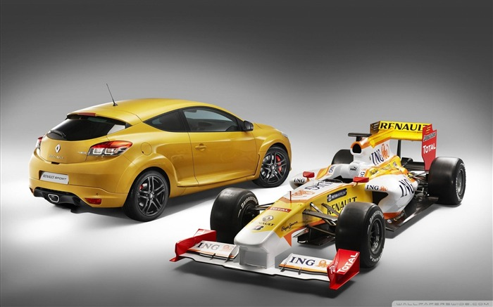 renault megane rs-F1 Formula Racing Wallpaper Views:8487