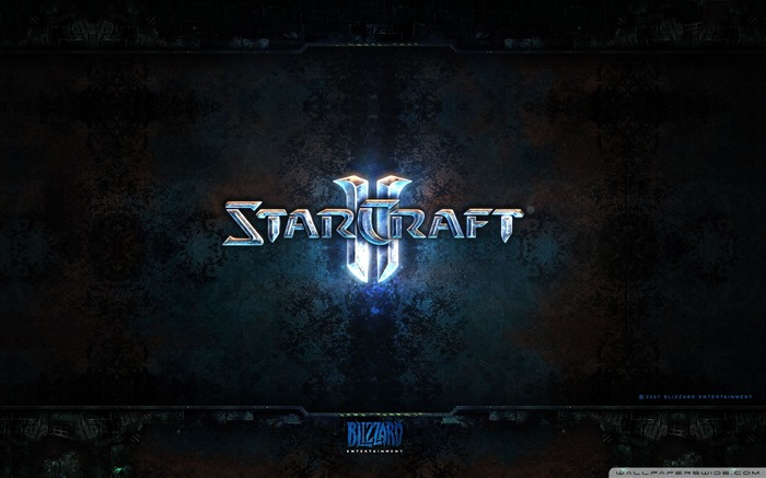 Classic strategy game - StarCraft II game Desktop Wallpaper Views:9054