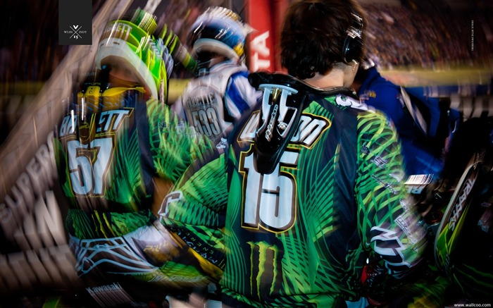 2011 Supercross Indianapolis-riders Dean Wilson Views:3606