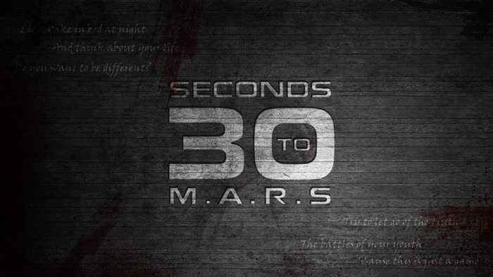 30 seconds to mars-Music Desktop Picture Views:9442