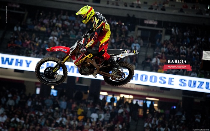 AMA Supercross Atlanta Station-driver Justin Barcia Views:6621