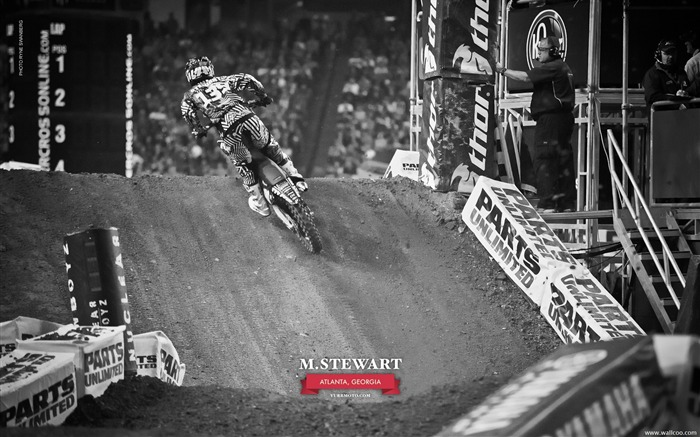 AMA Supercross Atlanta Station-driver Malcolm Stewart Views:3712