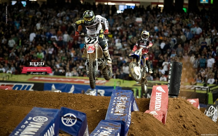 AMA Supercross Atlanta Station-riders Chad Reed Views:3563