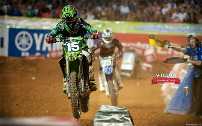 AMA Supercross Atlanta Station-riders Dean Wilson Views:5293