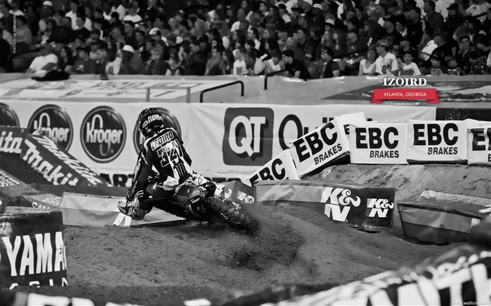 AMA Supercross Atlanta Station-riders Fabien Izoird Views:5419