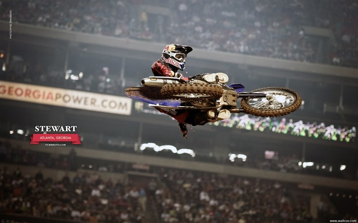 AMA Supercross Atlanta Station-riders James Stewart Views:6849