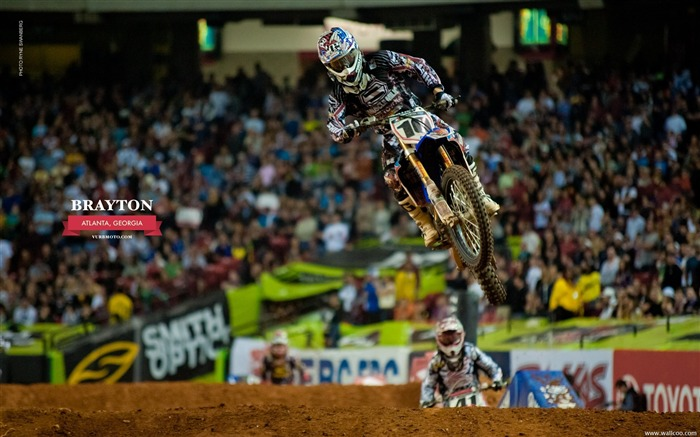 AMA Supercross Atlanta Station-riders Justin Brayton Views:5655