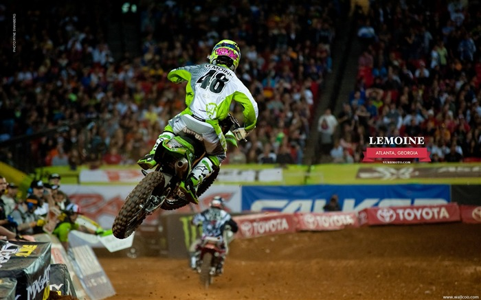 AMA Supercross Atlanta Station-riders Lance Vincent Views:5685