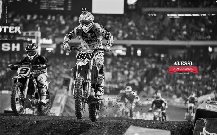 AMA Supercross Atlanta Station-riders Mike Alessi Views:5891